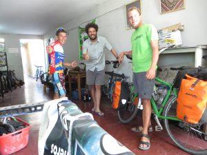 Casa de Ciclista: Luis, Josef, ich