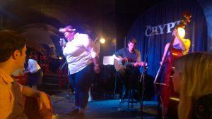 Schöner Jazzabend in Kapstadt mit lokal erfolgreicher Band
