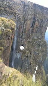 Tugela Wasserfall, 2. höchster der Welt